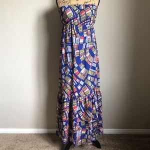 Collective Concepts Dress Maxi Lined Women S NWT
